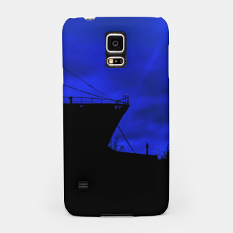 Thumbnail image of Silhouette Scene at Dock, Buenos Aires, Argentina Samsung Case, Live Heroes