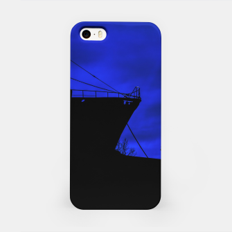 Thumbnail image of Silhouette Scene at Dock, Buenos Aires, Argentina iPhone Case, Live Heroes