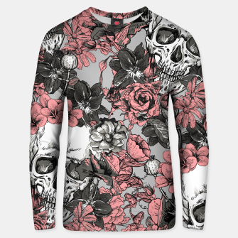 Thumbnail image of SKULLS IN PINK Unisex sweater, Live Heroes