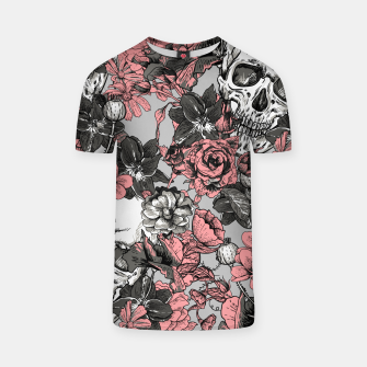 Thumbnail image of SKULLS IN PINK T-shirt, Live Heroes