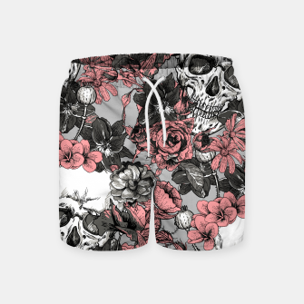Thumbnail image of SKULLS IN PINK Swim Shorts, Live Heroes