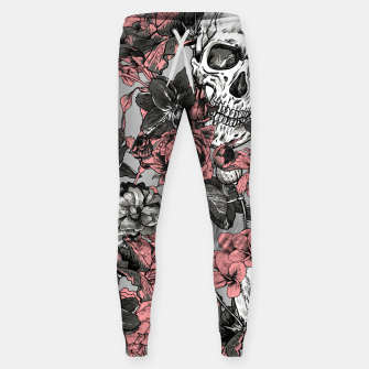 Thumbnail image of SKULLS IN PINK Sweatpants, Live Heroes