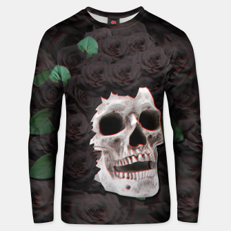 Thumbnail image of Black Skull Sweater, Live Heroes