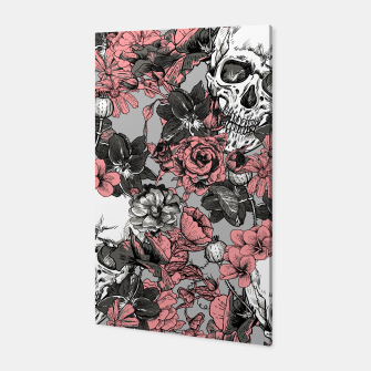 Thumbnail image of SKULLS IN PINK Canvas, Live Heroes
