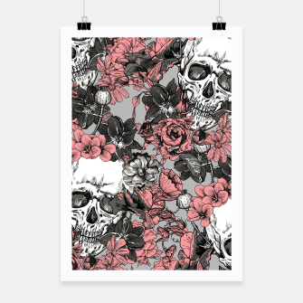 Thumbnail image of SKULLS IN PINK Poster, Live Heroes
