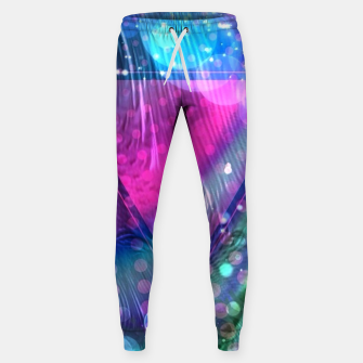 Thumbnail image of Pink Triangle Fractal Sweatpants, Live Heroes