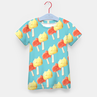 Thumbnail image of Popsicle Kid's t-shirt, Live Heroes