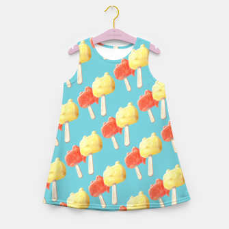 Thumbnail image of Popsicle Girl's summer dress, Live Heroes
