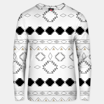 Miniaturka Tribal Boho Pattern Chic #1 #aztec #decor #art  Unisex sweatshirt, Live Heroes