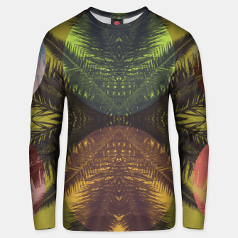 Thumbnail image of Palm tree and shapes Unisex sweater, Live Heroes