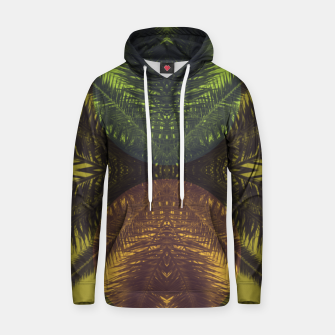 Thumbnail image of Palm tree and shapes Hoodie, Live Heroes