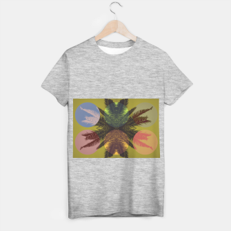 Thumbnail image of Palm tree and shapes T-shirt regular, Live Heroes