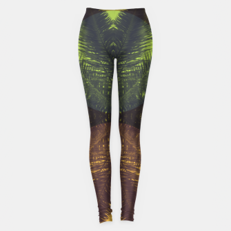 Thumbnail image of Palm tree and shapes Leggings, Live Heroes