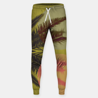 Thumbnail image of Palm tree and shapes Sweatpants, Live Heroes