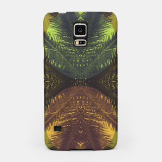 Thumbnail image of Palm tree and shapes Samsung Case, Live Heroes