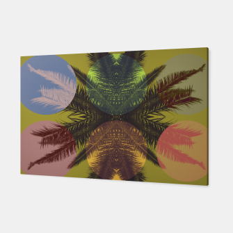 Thumbnail image of Palm tree and shapes Canvas, Live Heroes