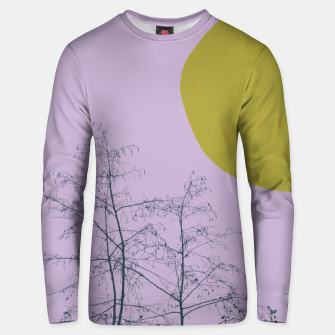 Trees and shape Unisex sweater Bild der Miniatur