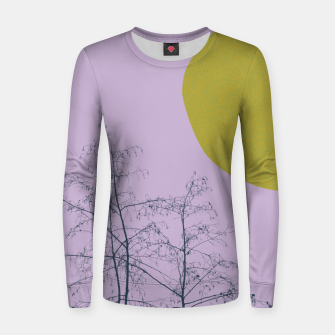 Miniatur Trees and shape Women sweater, Live Heroes