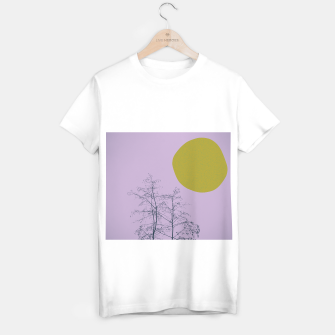 Trees and shape T-shirt regular Bild der Miniatur