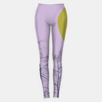 Miniatur Trees and shape Leggings, Live Heroes