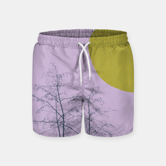 Trees and shape Swim Shorts Bild der Miniatur