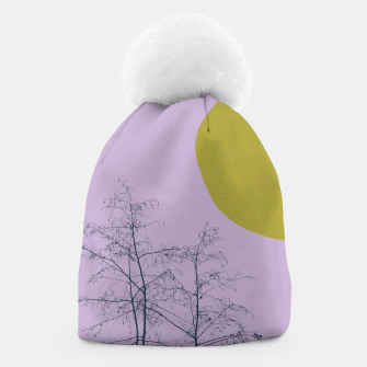 Trees and shape Beanie Bild der Miniatur