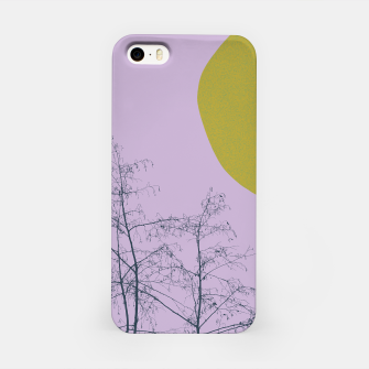 Trees and shape iPhone Case Bild der Miniatur