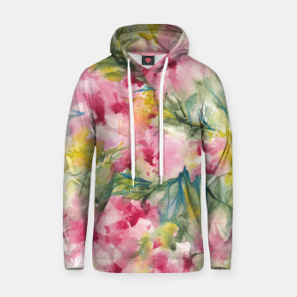 Thumbnail image of Dreamy Pink Floral Hoodie, Live Heroes