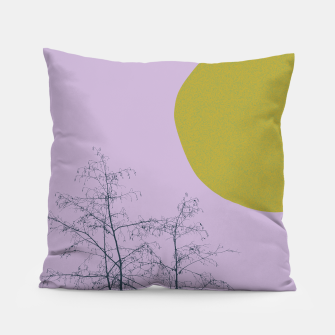 Thumbnail image of Trees and shape Pillow, Live Heroes