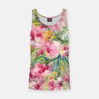 Thumbnail image of Dreamy Pink Floral Tank Top, Live Heroes