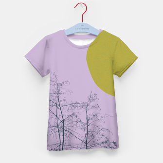 Miniatur Trees and shape Kid's t-shirt, Live Heroes