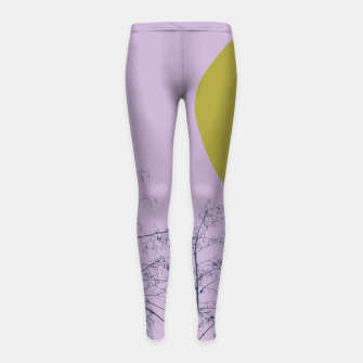Thumbnail image of Trees and shape Girl's leggings, Live Heroes