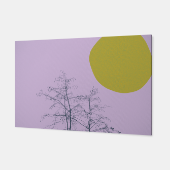 Trees and shape Canvas Bild der Miniatur