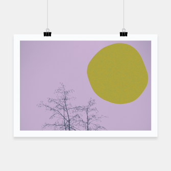 Thumbnail image of Trees and shape Poster, Live Heroes