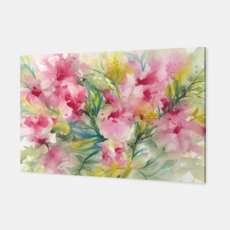Thumbnail image of Dreamy Pink Floral Canvas, Live Heroes