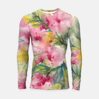 Thumbnail image of Dreamy Pink Floral Longsleeve rashguard , Live Heroes
