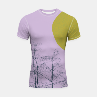 Thumbnail image of Trees and shape Shortsleeve rashguard, Live Heroes