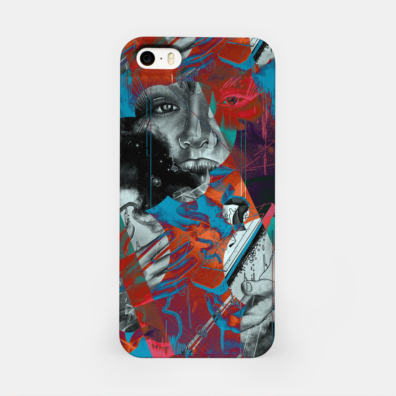 Image of Embrace iPhone Case - Live Heroes