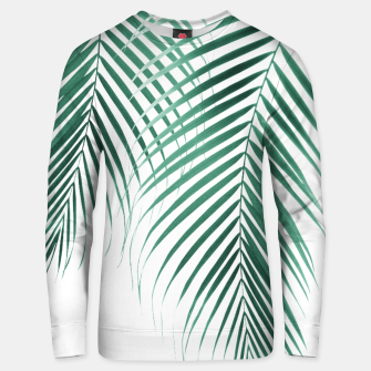 Miniaturka Summer Palm Leaves #2 #tropical #decor #art Unisex sweatshirt, Live Heroes