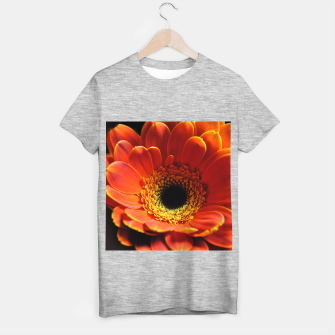 Thumbnail image of Orange Daisy T-shirt regular, Live Heroes