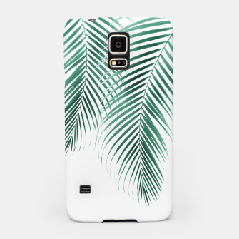 Thumbnail image of Summer Palm Leaves #2 #tropical #decor #art Handyhülle für Samsung, Live Heroes