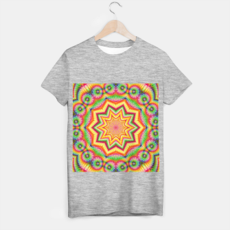 Thumbnail image of Rainbow Star Fractal T-shirt regular, Live Heroes