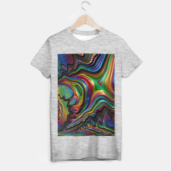 Thumbnail image of Rainbow Liquid Fractal T-shirt regular, Live Heroes