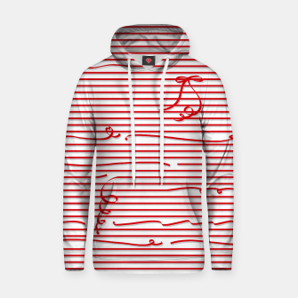 Thumbnail image of Red stripes (Ribbon)  Hoodie, Live Heroes