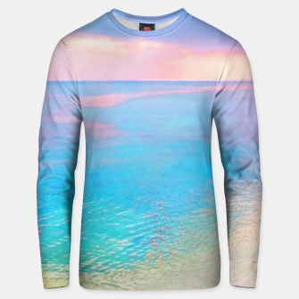 Thumbnail image of Dreamy sunset beach Unisex sweater, Live Heroes