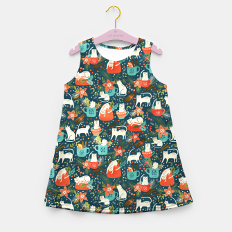 Thumbnail image of Spicy Kittens Girl's summer dress, Live Heroes