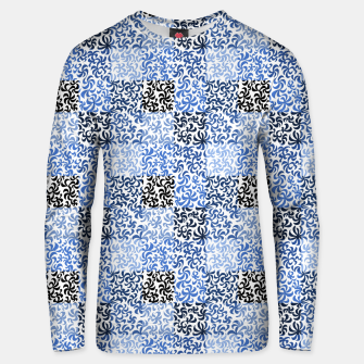 Thumbnail image of pattern of leaves and flowers (light)  Unisex sweater, Live Heroes