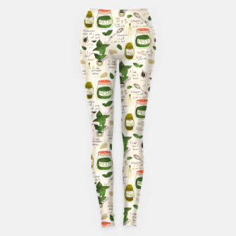 Miniatur Pesto. Seamless Recipe Leggings, Live Heroes