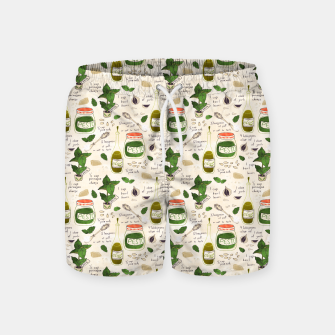 Miniatur Pesto. Seamless Recipe Swim Shorts, Live Heroes
