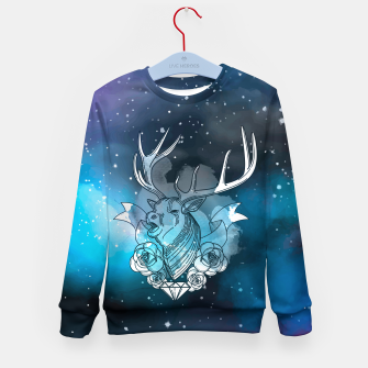 Thumbnail image of Space reindeer Bluza dziecięca, Live Heroes